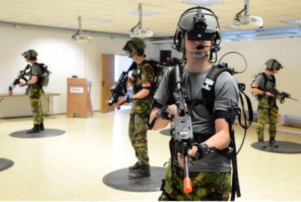 DSTS Demonstrated by the Netherlands Army at the 7th US Army Joint Multinational Training Command