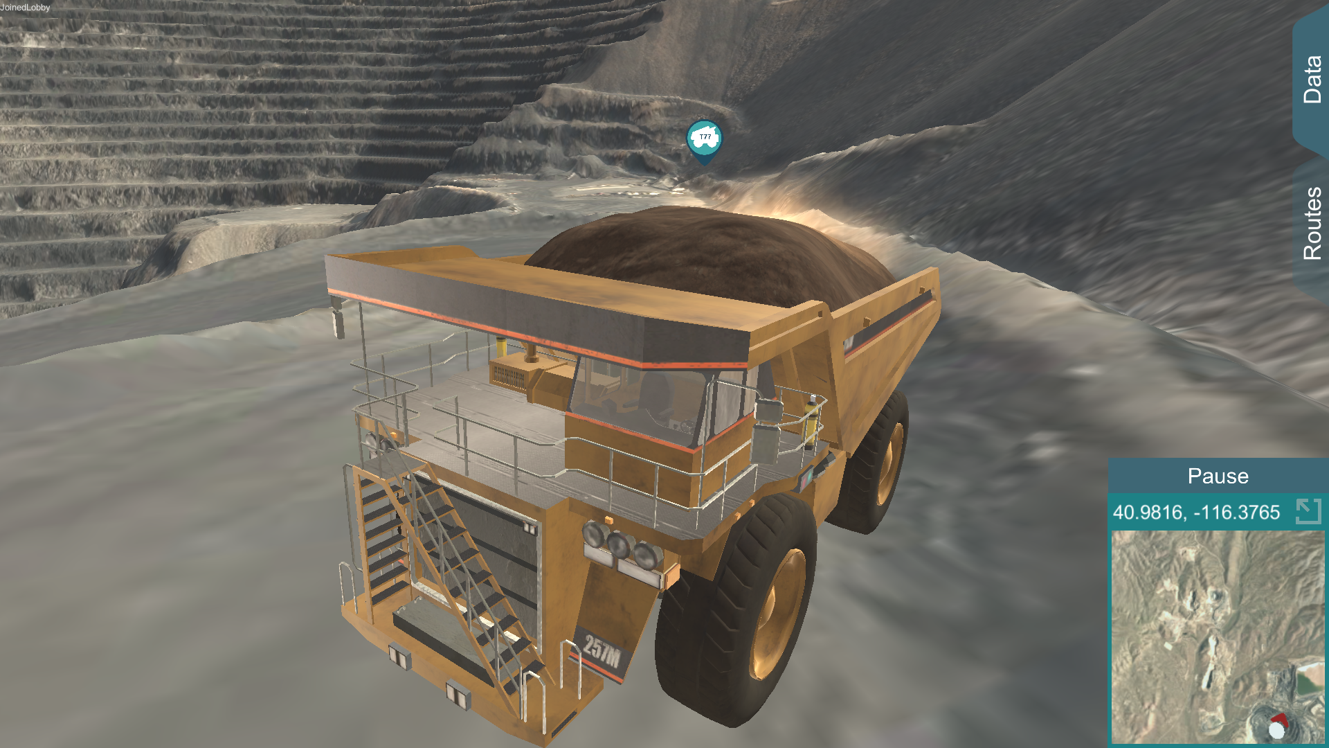 Digital Twin Mining Haul Truck
