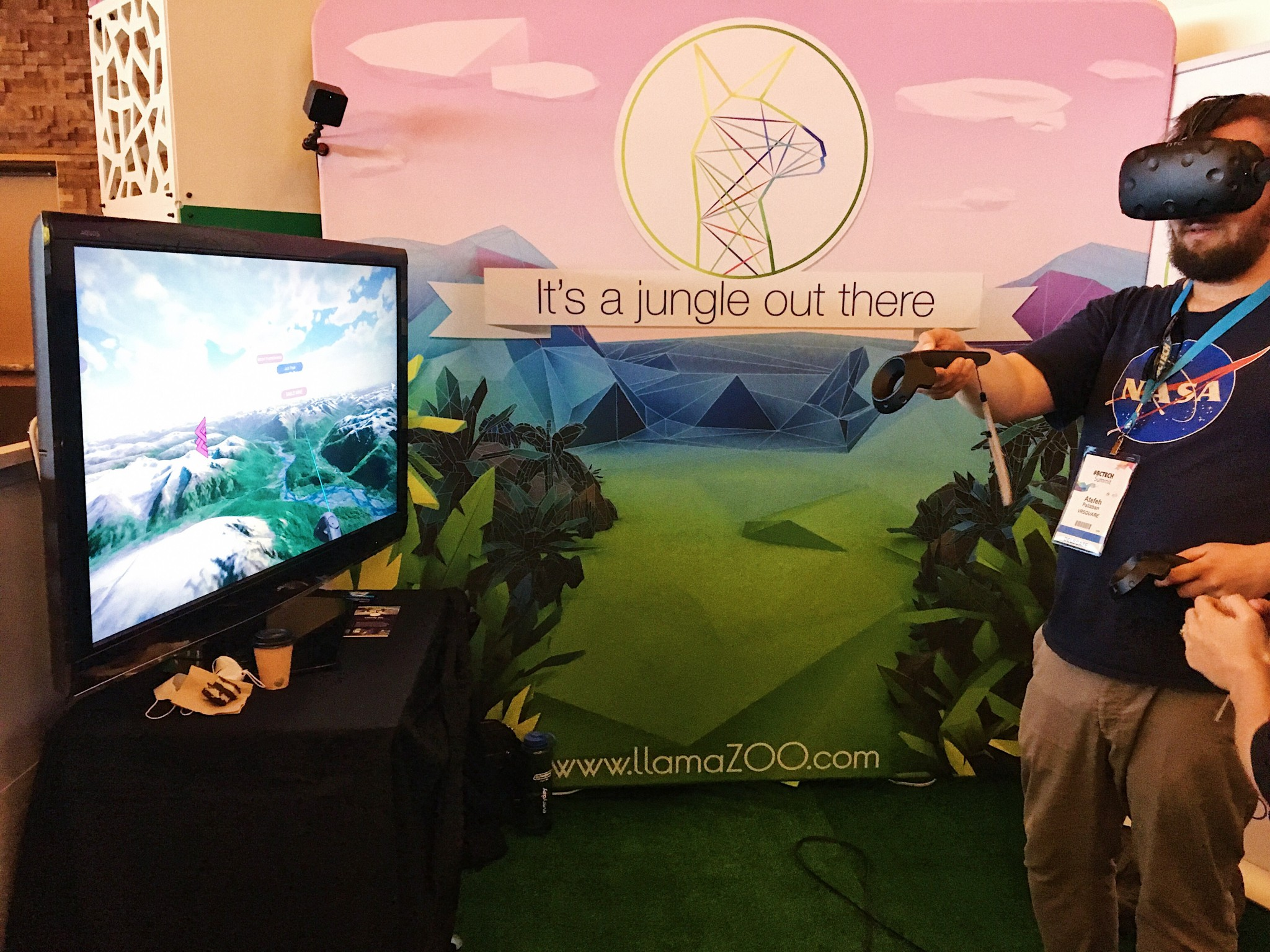 LlamaZOO's MinelifeVR Demo at #BCTECH summit