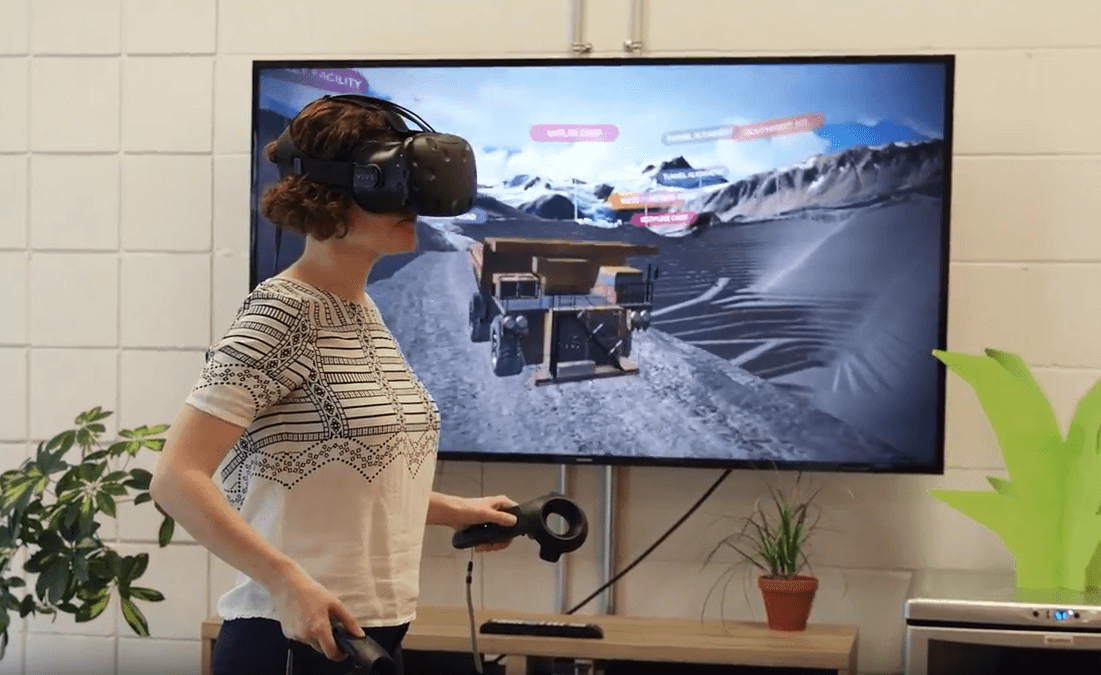 Remote site visit with MineLife VR
