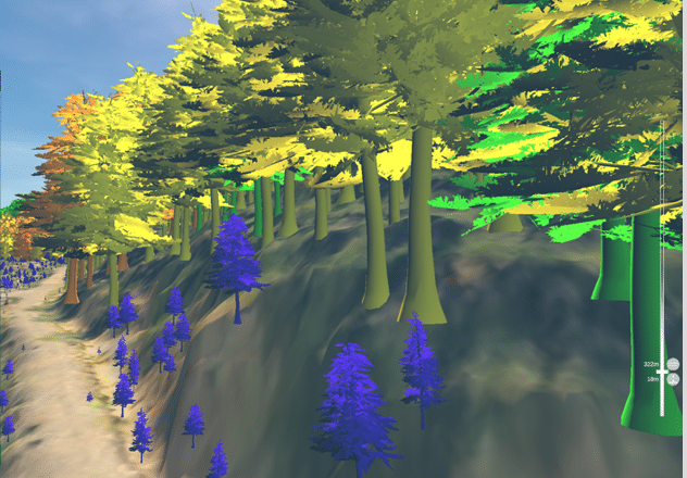 TimberOps helps visualize every tree of a forestry operation for more streamlined operations